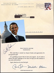 From President Obama